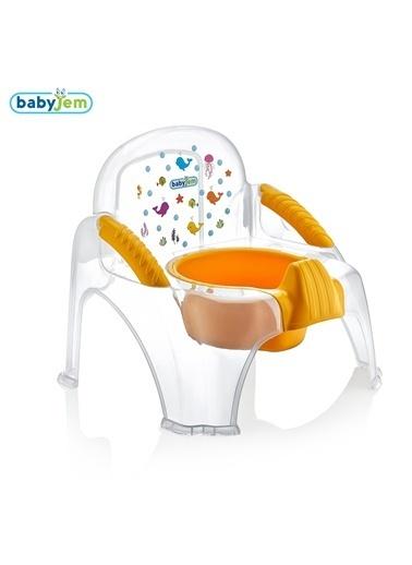 Babyjem Desenli Şeffaf Afacan Lazımlık-Baby Jem